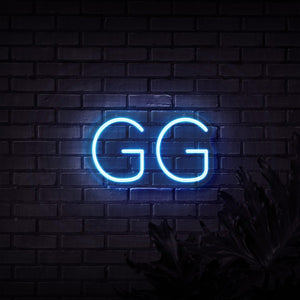 Neon Sign - GOOD GAME NEON SIGN (DELIVERED IN 3-5WKS)