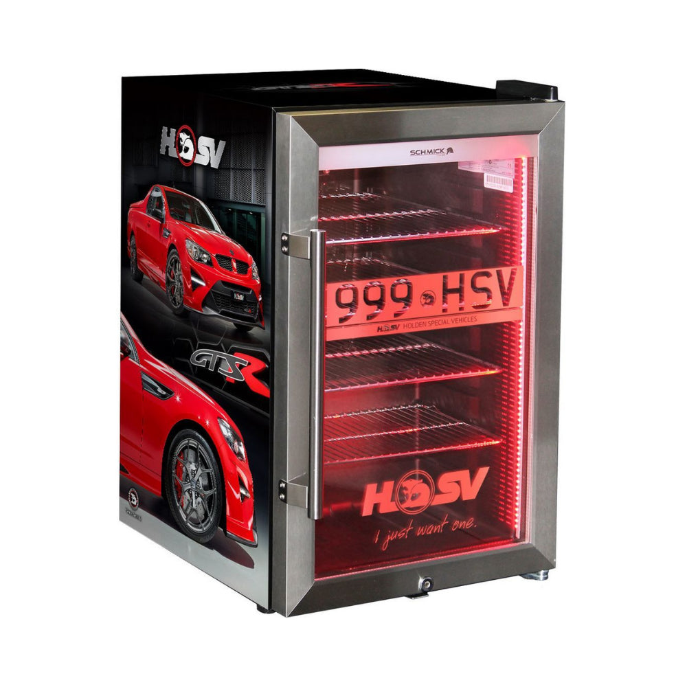 Bar Fridge - HSV GTSR Maloo Branded Bar Fridge. Great Gift Idea! Add You Own Number Plate To Door!