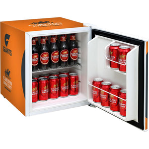 Bar Fridge - GWS Giants Carlton Draught Retro Mini Bar Fridge