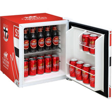 Load image into Gallery viewer, Bar Fridge - St Kilda Saints Carlton Draught Retro Mini Bar Fridge