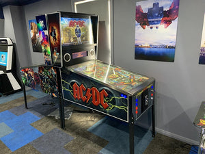 Pinball Machine - AC/DC Pinball Machine 1080 Games Included!!!