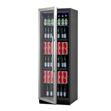 Load image into Gallery viewer, Bar Fridge - 405 Litre Upright Glass Door Bar Refrigerator