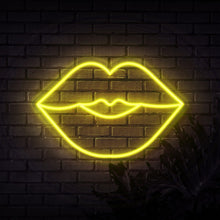 Load image into Gallery viewer, Neon Sign - LUSH LIPS NEON SIGN (DELIVERED IN 3-5WKS)