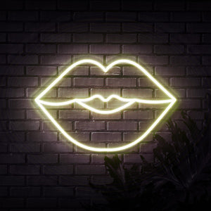 Neon Sign - LUSH LIPS NEON SIGN (DELIVERED IN 3-5WKS)
