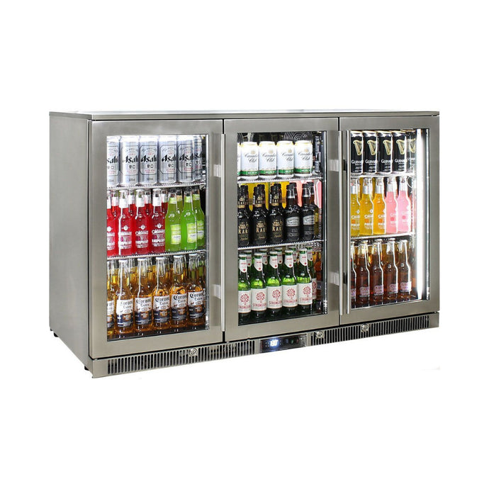 Bar Fridge - Outdoor Rhino ENVY 3 Door Bar Fridge Coldest Beer 43ºC+ Best Alfresco 316 Marine Grade Stainless Quiet With No Condensation  (PRE-ORDER FOR LATE  NOV)