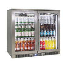 Load image into Gallery viewer, Bar Fridge - Outdoor Rhino ENVY Bar Fridge Coldest Beer 43ºC+ Best Alfresco 316 Marine Grade Stainless Quiet With No Condensation