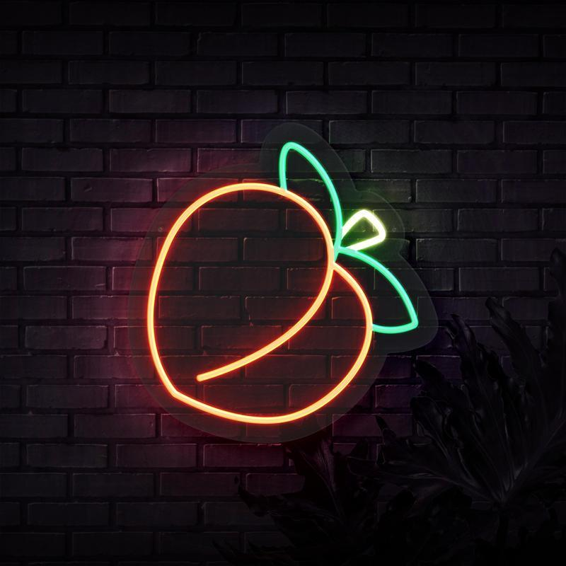 Neon Sign - PEACH NEON SIGN (DELIVERED IN 3-5WKS)