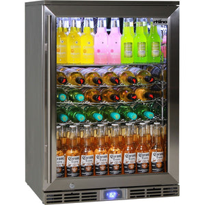 Bar Fridge - Rhino Glass Door 129L Alfresco Bar Fridge With LOW E Glass
