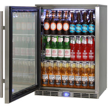 Load image into Gallery viewer, Bar Fridge - Rhino Alfresco Kitchen Glass Door Outdoor Bar Fridge Great For Cold Beer In Hot Climates