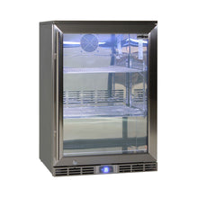 Load image into Gallery viewer, Bar Fridge - Rhino Glass Door 129L Alfresco Bar Fridge With LOW E Glass