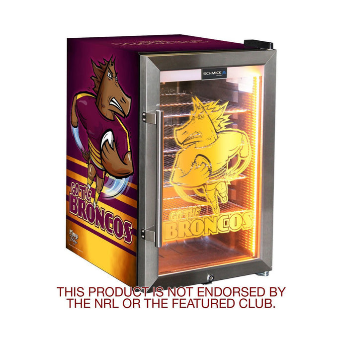 Bar Fridge - Rugby Team Design Club Branded Bar Fridge, Great Gift Idea! 10 X Clubs Available