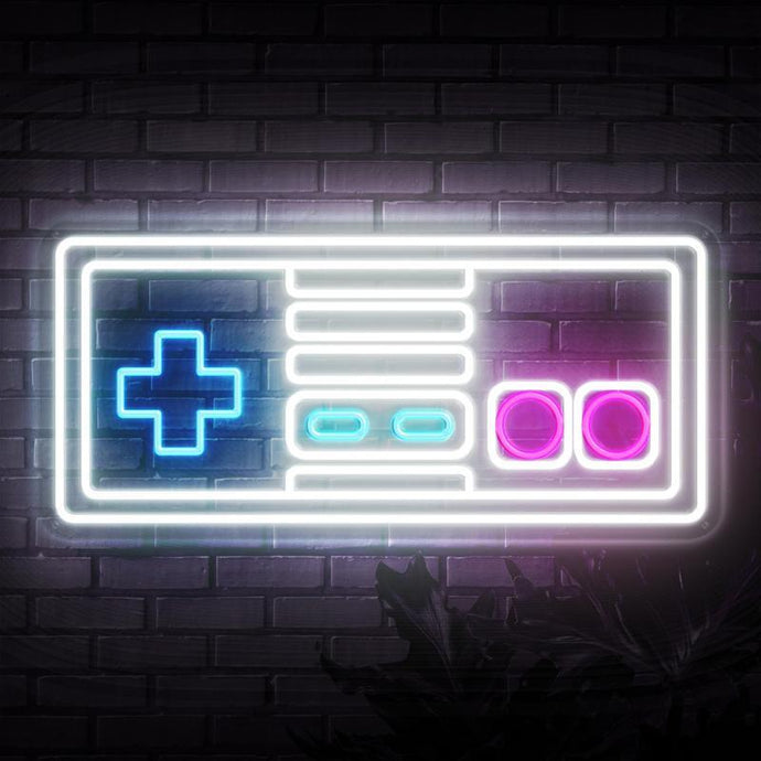 Neon Sign - SNES CONTROL NEON SIGN (DELIVERED IN 3-5WKS)