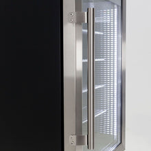 Load image into Gallery viewer, Bar Fridge - Ned Kelly Themed Alfresco Bar Fridge With Led Strip Lights, Lock And LOW E Glass