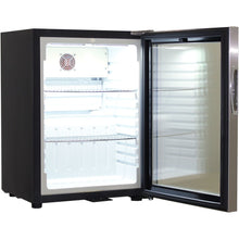 Load image into Gallery viewer, Bar Fridge - Schmick Glass Door Mini Bar Accommodation Fridge Quiet Running With Shallow Depth Model SK40-SS