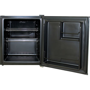 Bar Fridge - Holden HSV Retro Black Vintage Mini Bar Fridge 46 Litre Schmick Brand With Opener