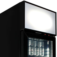 Load image into Gallery viewer, Bar Fridge - Weg Art Footy Branded Skinny Upright Bar Fridge - 15 Teams Available **Product Is Not Endorsed By AFL Or Featured Club**