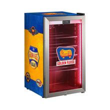 Load image into Gallery viewer, Bar Fridge - Schmick Vintage Fuel Pump Triple Glazed Alfresco Bar Fridge With LED Strip Lights