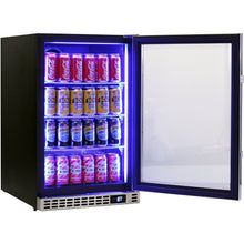 Load image into Gallery viewer, Bar Fridge - Schmick Quiet Running Front Venting Under Bench Glass Door Bar Fridge Model SK116-SS (PRE-ORDER FOR MID NOV)
