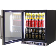 Load image into Gallery viewer, Bar Fridge - Schmick Quiet Running Front Venting Under Bench Glass Door Bar Fridge Model SK86-SS