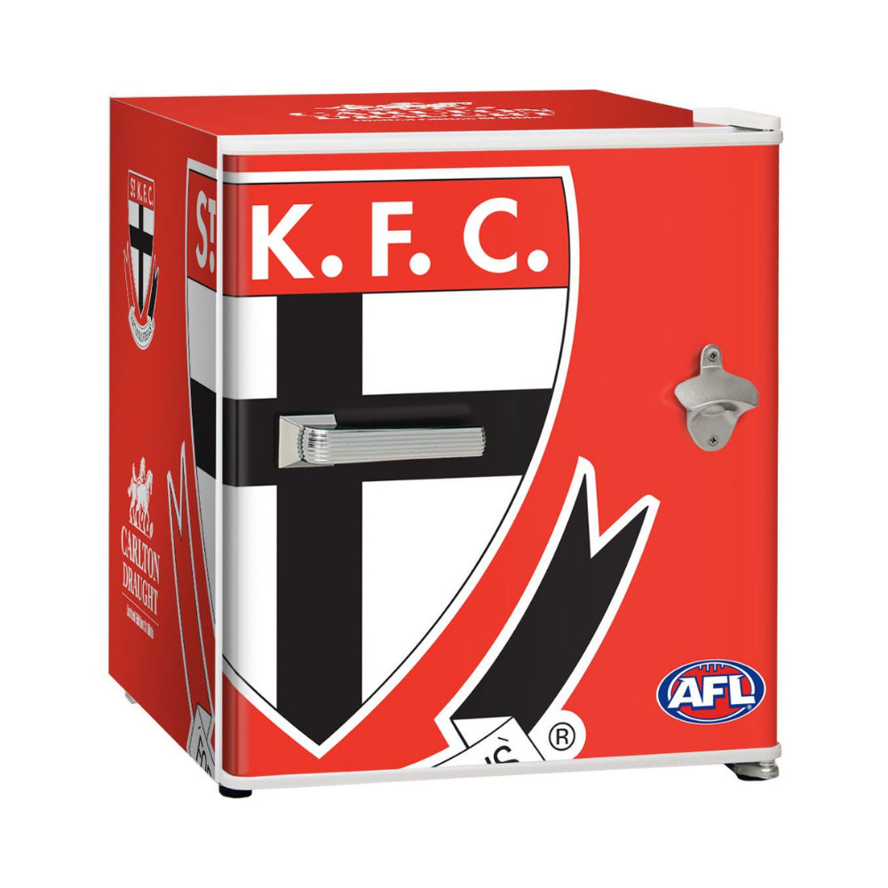Bar Fridge - St Kilda Saints Carlton Draught Retro Mini Bar Fridge