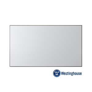 "Westinghouse 130"" Thin Bezel Fixed Frame Screen"