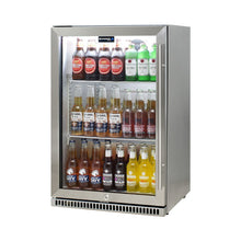 Load image into Gallery viewer, Bar Fridge - Schmick 304 Stainless Steel Bar Fridge Tropical Rated With Heated Glass And Triple Glazing Model SK118L-SS (PRE-ORDER FOR MID JAN)