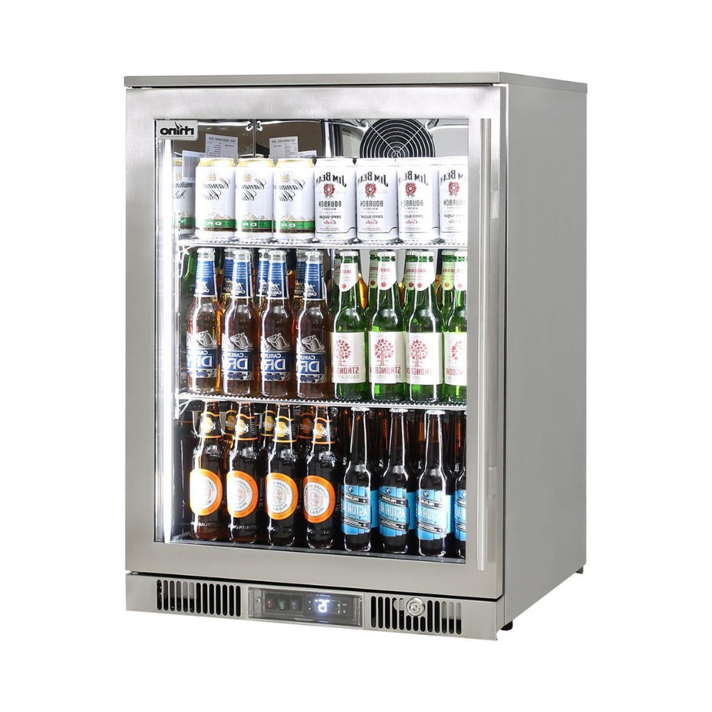 Bar Fridge - Outdoor Rhino ENVY 1 Door Bar Fridge Coldest Beer 43ºC+ Best Alfresco 316 Stainless Quiet With No Condensation (PRE-ORDER FOR LATE OCT)