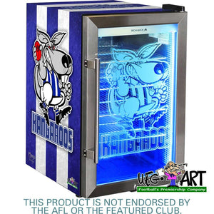 Bar Fridge - Weg Art Football Club Branded Bar Fridge, Great Gift Idea! 15 X Clubs Available