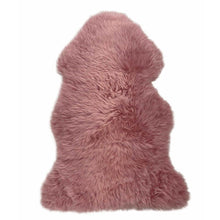 Load image into Gallery viewer, Rug - LILAC - XXL PINK LONG WOOL RUG - AUSTRALIAN MERINO SHEEPSKIN