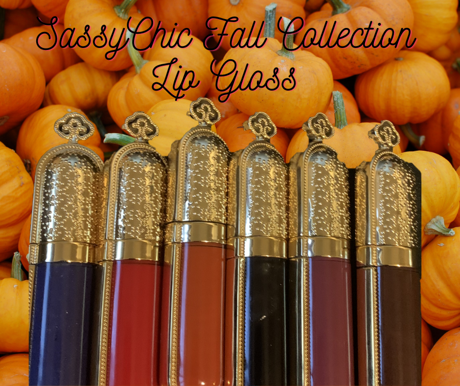 SassyChic Cosmetics Fall Lip Gloss