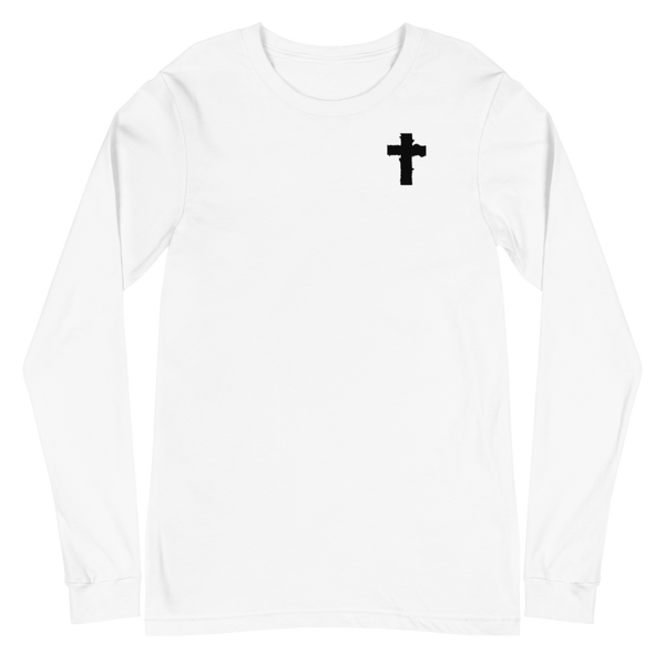 SaySo Gifts and Apparel Boldly Long Sleeve T-Shirt, Christian T Shirts for Men, Christian Streetwear Brand