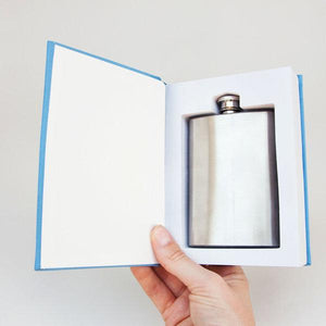 Self Help Flask In A Book