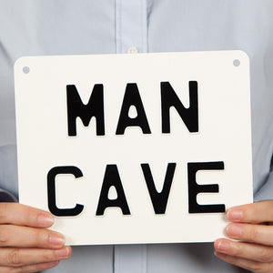 Handmade Vintage Sign - Man Cave