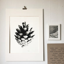 Load image into Gallery viewer, Kotten, A graphic pine cone print.