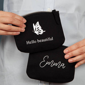 Personalised Slogan Purse