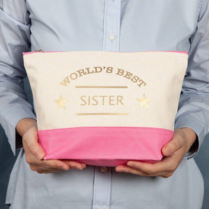 Personalised The World's Best Wash Bag