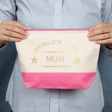 Load image into Gallery viewer, Personalised The World's Best Wash Bag