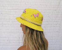 Yellow Mellow Butterfly Bucket