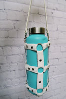 Icy Leather Water Bottle Harness