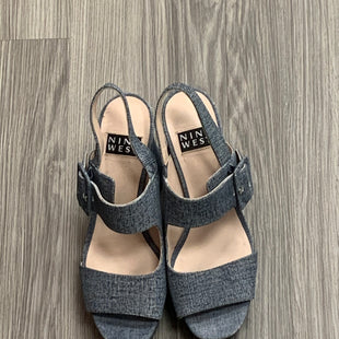 Primary Photo - BRAND: NINE WEST STYLE: SHOES HIGH HEEL COLOR: DENIM SIZE: 9.5 OTHER INFO: AS IS SKU: 172-17215-78340