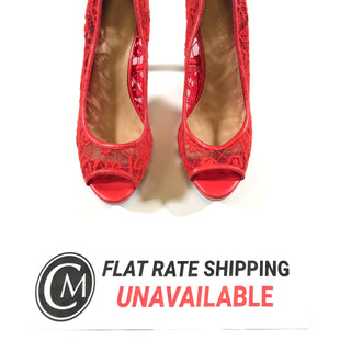 Primary Photo - BRAND: ANTONIO MELANI STYLE: SHOES HIGH HEEL COLOR: RED SIZE: 10 SKU: 172-172170-64654