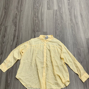 Primary Photo - BRAND: MAURICES STYLE: TOP LONG SLEEVE COLOR: YELLOW SIZE: 2X SKU: 172-172166-73046