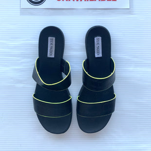 Primary Photo - BRAND: STEVE MADDEN STYLE: SANDALS FLAT COLOR: BLACK SIZE: 8.5 SKU: 172-17215-76152