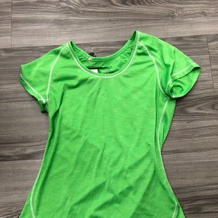 Primary Photo - BRAND: ADIDAS STYLE: ATHLETIC TOP SHORT SLEEVE COLOR: GREEN SIZE: M SKU: 172-172166-78533