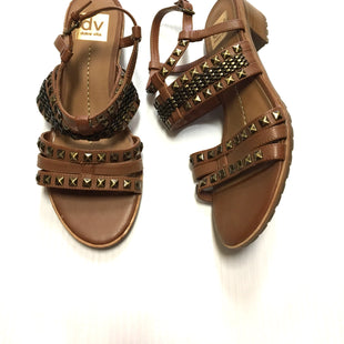 Primary Photo - BRAND: DOLCE VITA STYLE: SANDALS LOW COLOR: BROWN SIZE: 8.5 SKU: 172-172170-54281