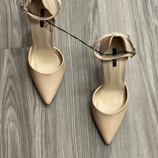 Primary Photo - BRAND: FOREVER 21 STYLE: SHOES HIGH HEEL COLOR: NUDE SIZE: 9.5 SKU: 172-172166-74069