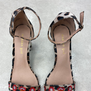 Primary Photo - BRAND: MADDEN GIRL STYLE: SHOES LOW HEEL COLOR: ANIMAL PRINT SIZE: 8.5 SKU: 174-17475-9332
