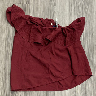 Primary Photo - BRAND: BLUE RAIN STYLE: TOP SLEEVELESS COLOR: MAROON SIZE: M OTHER INFO: NEW! SKU: 172-172170-76683
