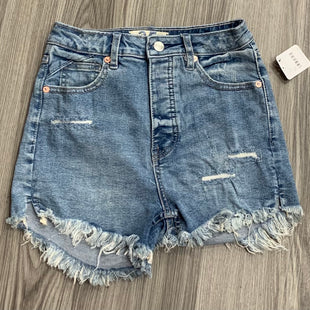 Primary Photo - BRAND: WE THE FREE STYLE: SHORTS COLOR: DENIM SIZE: 0 OTHER INFO: NEW! SKU: 172-172170-76641