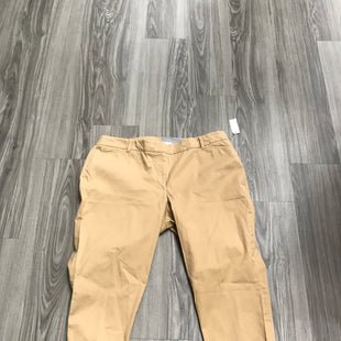 Primary Photo - BRAND: TALBOTS STYLE: PANTS COLOR: BEIGE SIZE: 16 SKU: 172-172251-2872